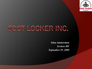 Foot locker inc.