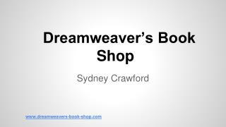 Dreamweaver's Book Shop
