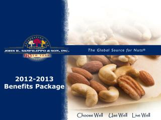 2012-2013 Benefits Package