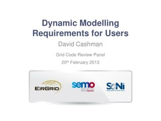 Dynamic  Modelling  Requirements for Users