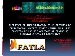 FATLA Fundación para la Actualización Tecnológica de Latinoamérica Programa de Expertos en E –  Learning Módulo 5  Capa
