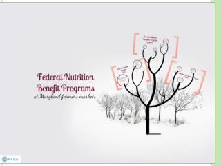 FARMERS� MARKET NUTRITION PROGRAM 2013 Training