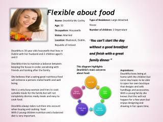 Flexible about food
