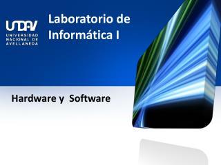 Laboratorio de Inform�tica I