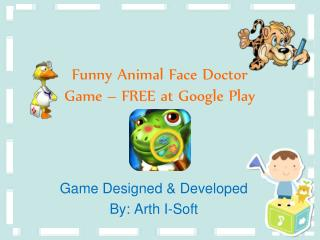 Funny Animal Face Doctor Game - FREE at Google Play