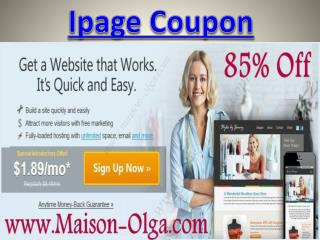 Ipage Coupon