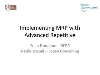 Implementing MRP with Advanced Repetitive