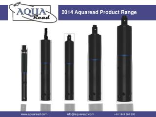 2014 Aquaread Product Range