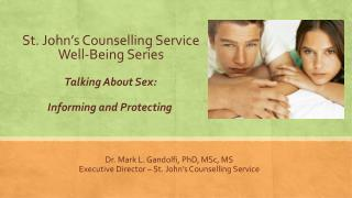 St. John�s Counselling Service Well-Being Series