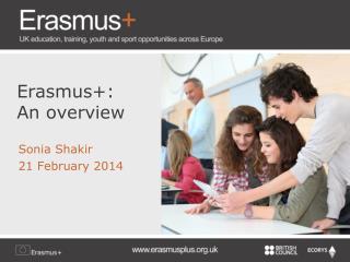 Erasmus+: An overview