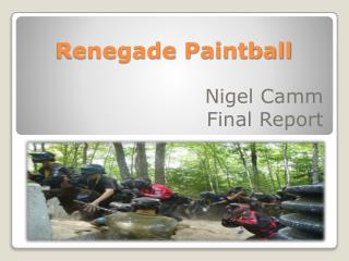 Renegade  Paintball