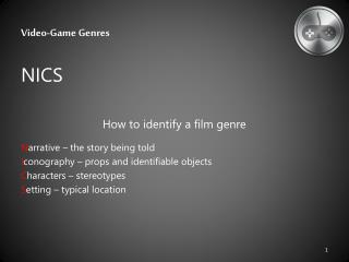 Video-Game Genres