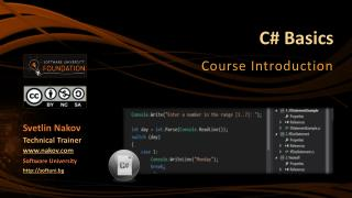 C# Basics