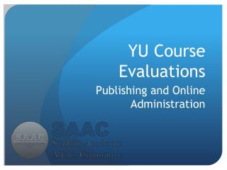YU Course Evaluations