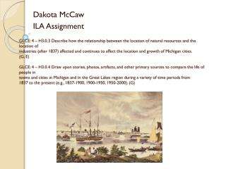 Dakota McCaw ILA Assignment