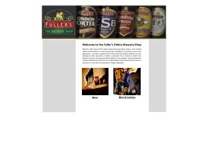 Welcome to the Fuller's Online Brewery Shop