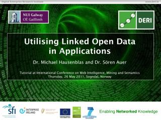 Utilising  Linked Open  Data in  Applications