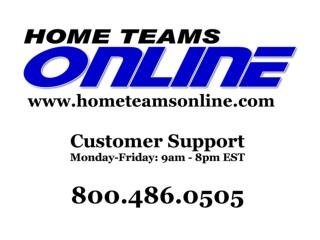 Premium sports websites for teams, leagues, and organizations.