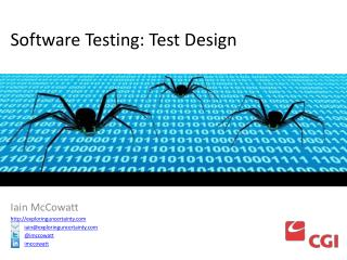 Software Testing: Test Design