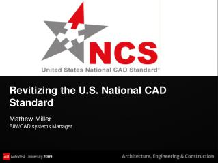 Revitizing the U.S. National CAD Standard