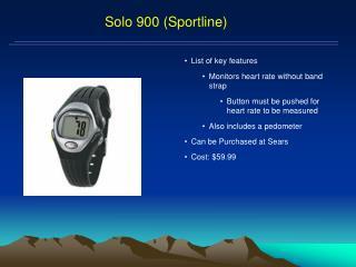 Solo 900 ( Sportline )