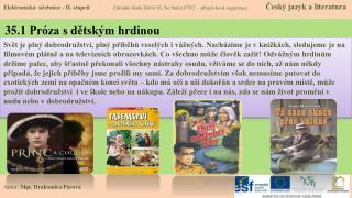 35.1 Próza s dětským hrdinou