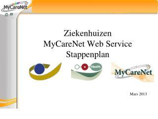 Ziekenhuizen MyCareNet Web Service Stappenplan