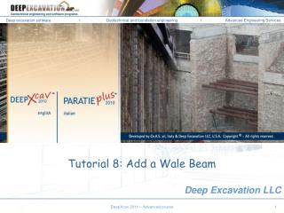 Tutorial 8: Add a Wale Beam