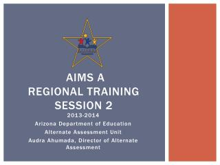 AIMS  A  Regional  Training Session 2