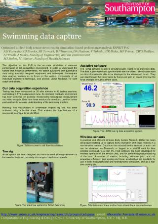 Optimized athlete body sensor networks for simulation-based performance analysis  ESPRIT  PoC