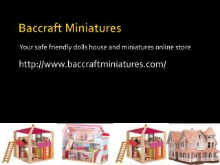 Baccraft  Miniatures