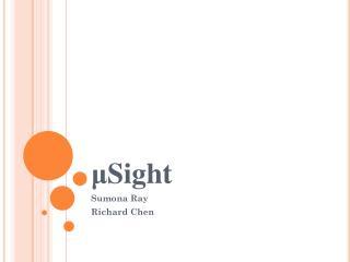 μ Sight