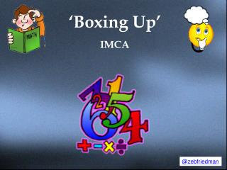 'Boxing Up' IMCA