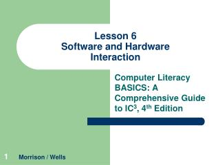 Lesson 6 Software and Hardware Interaction
