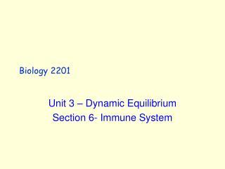 biology 2201