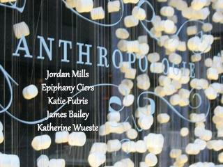 Jordan Mills Epiphany Ciers Katie Futris James Bailey Katherine Wueste