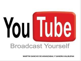MARTIN SANCHO DE ARANZABAL Y SANDRA VALBUENA