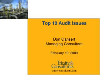 Top 10 Audit Issues