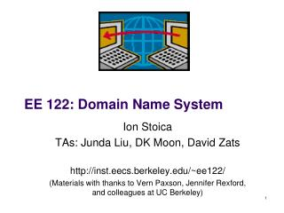 EE  122: Domain Name System