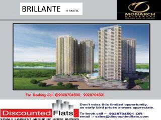 Garnet Construction new launch Brillante at Panvel Mumbai
