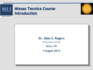 Missao Tecnica  Course Introduction