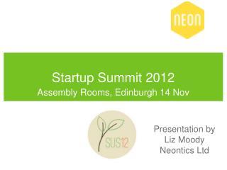 Startup Summit 2012
