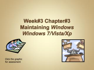Week#3 Chapter#3  Maintaining  Windows  Windows  7/Vista/ Xp