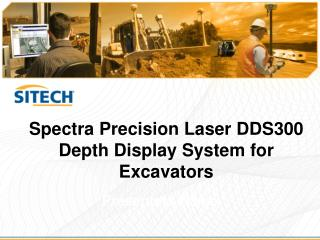 Spectra Precision Laser DDS300  Depth Display System for Excavators