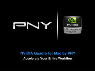 NVIDIA Quadro  for Mac by  PNY