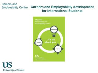 Careers and  E mployability development for International Students