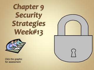 Chapter  9  Security  Strategies Week#13