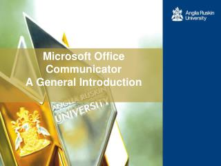 Microsoft Office Communicator  A General Introduction