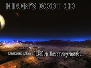 Hiren's  Boot CD