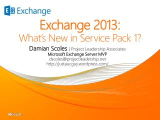 Exchange 2013: What's New in Service Pack 1?